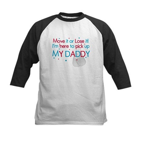 Move it (Daddy's Lil' Princes Kids Baseball Jersey