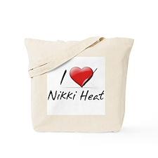 I Heart Nikki Heat Tote Bag