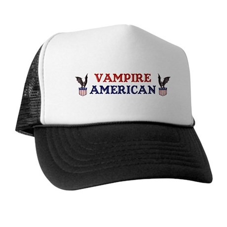 Vampire American Trucker Hat