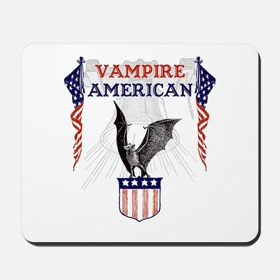 Vampire American Mousepad