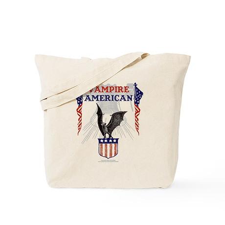 Vampire American Tote Bag
