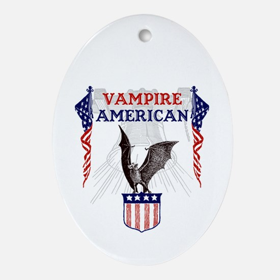 Vampire American Ornament (Oval)