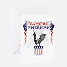 Vampire American Greeting Card