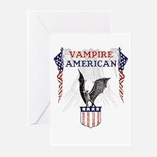 Vampire American Greeting Cards (Pk of 10)