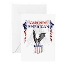 Vampire American Greeting Cards (Pk of 20)