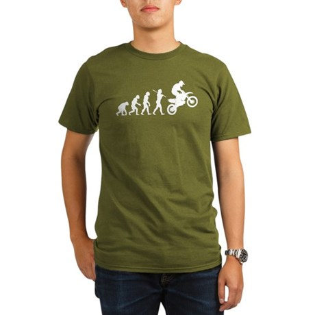 Motocross Organic Men's T-Shirt (dark)