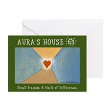 Aura's House Holiday Cards (Pk of 10)