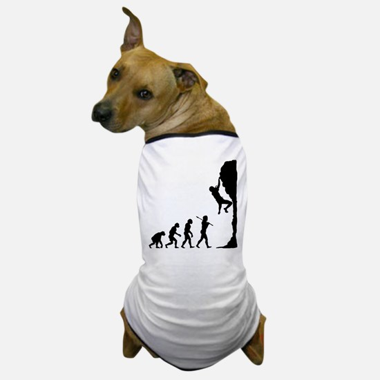 Rock Climbing Dog T-Shirt