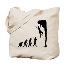 Rock Climbing Tote Bag