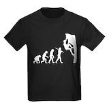 Rock climbing Kids T-shirts (Dark)