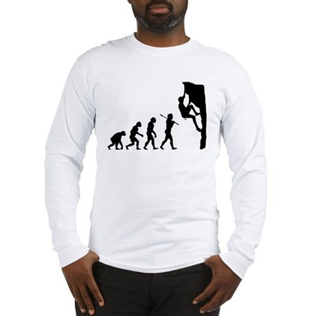 Rock Climbing Long Sleeve T-Shirt