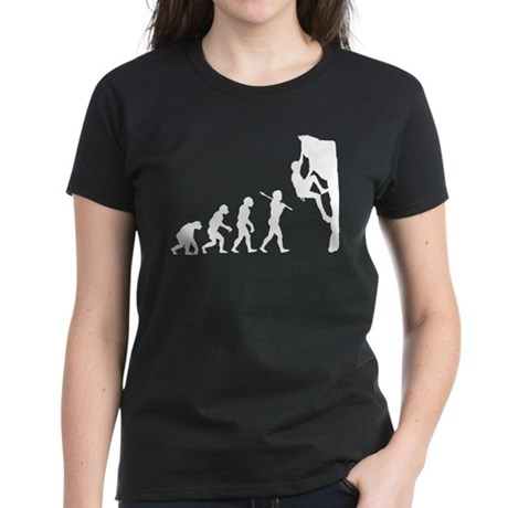Rock Climbing Women's Dark T-Shirt