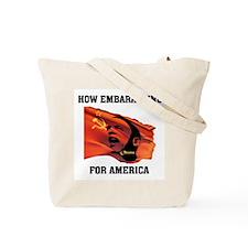 WE SEE THE REAL OBAMA Tote Bag