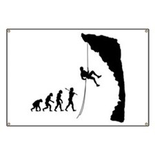 Rock Climbing Banner