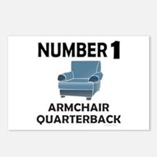 ARMCHAIR QUARTERBACK Postcards (Package of 8)
