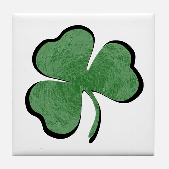 FIND THE LUCK Tile Coaster