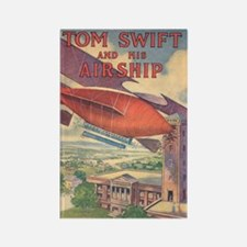 Tom Swift and his Airship Rectangle Magnet