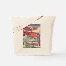 Tom Swift and his Airship Tote Bag