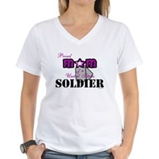 Proud Soldier's Mom Shirt