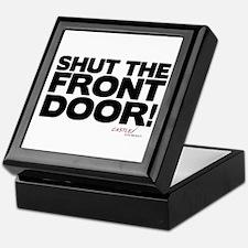 Shut the Front Door! Keepsake Box