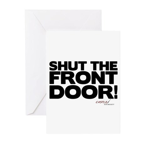 Shut the Front Door! Greeting Cards (Pk of 10)