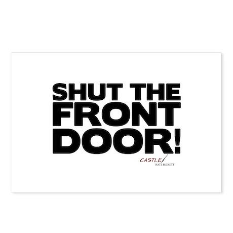 Shut the Front Door! Postcards (Package of 8)