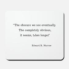 Ed Murrow Mousepad