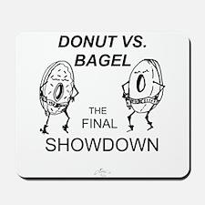Donut vs. Bagel - Final Showd Mousepad