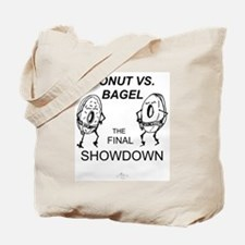 Donut vs. Bagel - Final Showd Tote Bag
