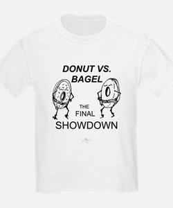 Donut vs. Bagel - Final Showd T-Shirt