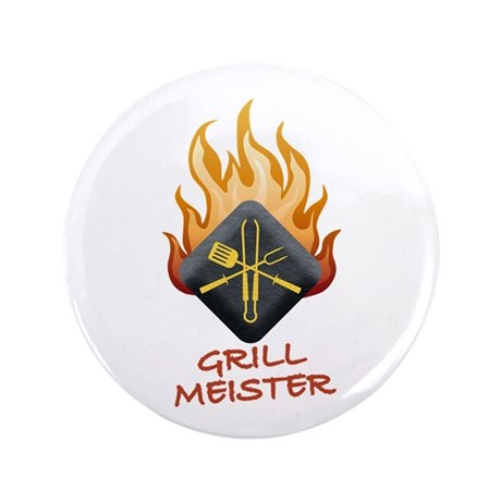"Grill Master 3.5"" Button"