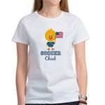 USA Soccer Chick Women's T-Shirt