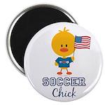 USA Soccer Chick Magnet