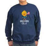 USA Soccer Chick Sweatshirt (dark)