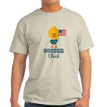 USA Soccer Chick Light T-Shirt