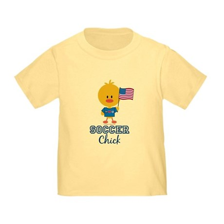 USA Soccer Chick Toddler T-Shirt