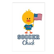USA Soccer Chick Postcards (Package of 8)