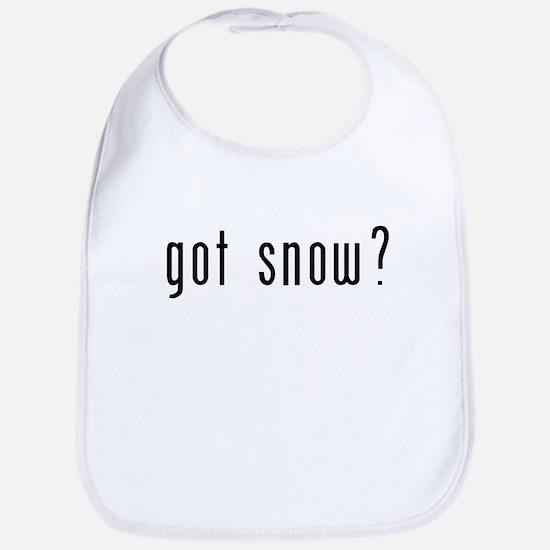 got snow? Bib