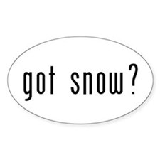 got snow? Bumper Stickers