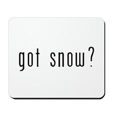 got snow? Mousepad