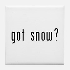 got snow? Tile Coaster