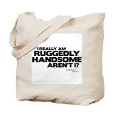 Ruggedly Handsome Tote Bag