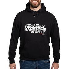 Ruggedly Handsome Hoodie (dark)