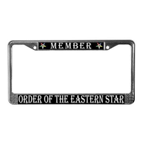 OES Members License Plate Frame