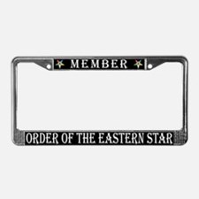 OES Members License Plate Frame