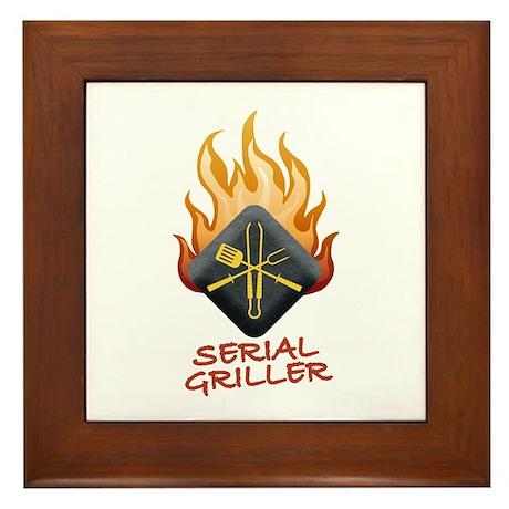 Grill Master Framed Tile