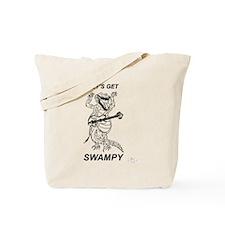 Rockadile - Let's Get Swampy Tote Bag