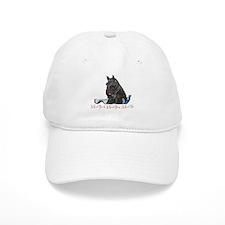 Scottish Terrier Book Baseball Cap