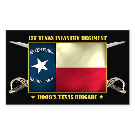 1st Texas Infantry Sticker