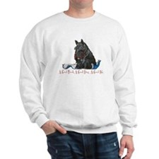 Scottish Terrier Book Sweatshirt